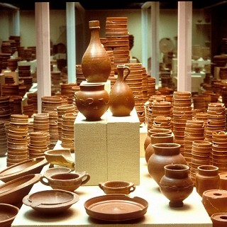 La graufesenque site arch ologique gallo romain - Fabriquer un tour de potier ...